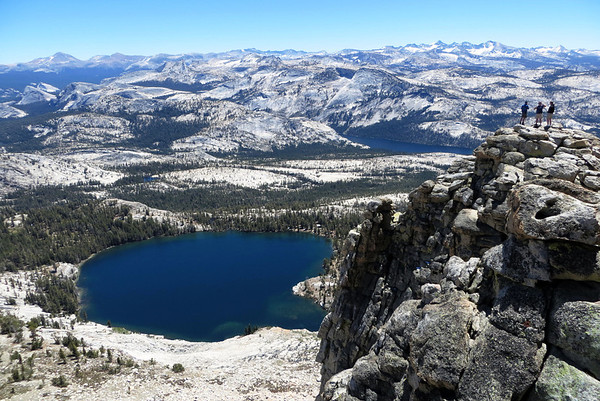 Yosemite - May Lake/Indian Arch/North Dome: Jun 8-10, 2012