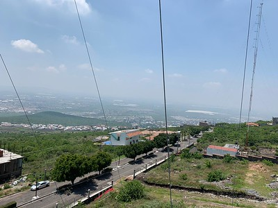 XE1CRG gateway in Guanajuato MX, new HF antenna
