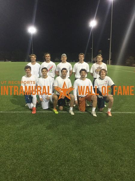 Fall 2017 Flag Football Men's A Runner Up Don't @ Me