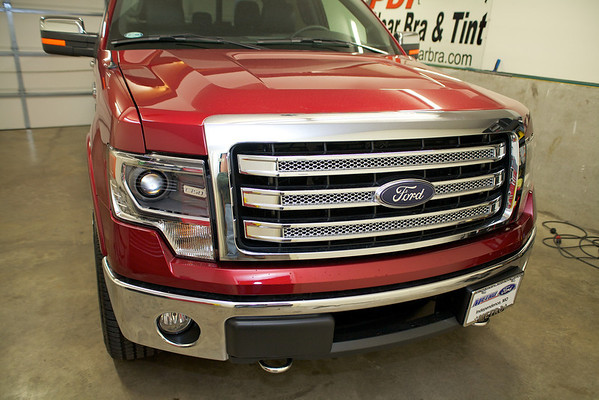 2013 Ford F-150 Red