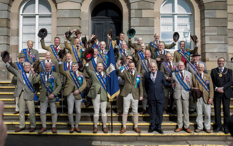 Lanark - Perambulation of the Marches 2019 .