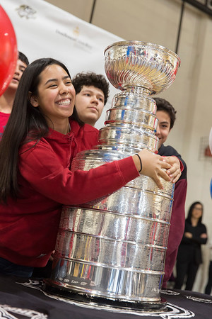 Stanley Cup at Don Bosco Cristo Rey
