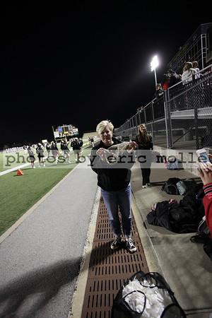 Springdale George Wranglers at Bentonville Gold Tigers 9th Grade Football - 10/18/2012