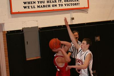Boys JV Basketball - 1/10/2006 Ludington AV