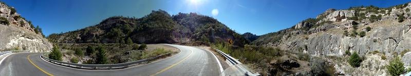 Canyon panorama.