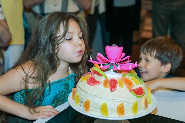 Alexia 7 years Celebration - July,  2014