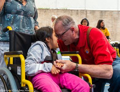 CRIT Mexico City Wheelchair Distribution