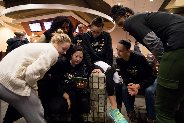 11-27-16 Purdue Volleyball Tournament Selection Show Watch Party