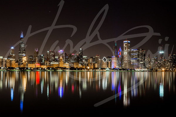 Chicago Cubs Skyline | Chitown Fitted