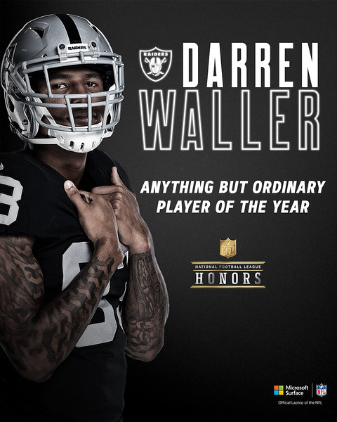 ANYTHING BUT ORDINARY PLAYER OF THE YEAR, Las Vegas Raiders