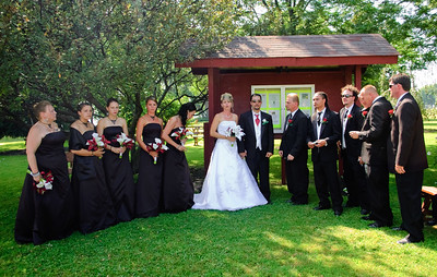 Wedding Ceremony Pictures at The Butterfly Garden of Hope Liverpool NY (Part 3)