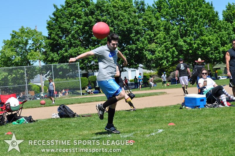 Recesstime Sports Leagues Portland Kickball Spring 2013 Dodgeball Bowling Ping Pong Mushball - 087