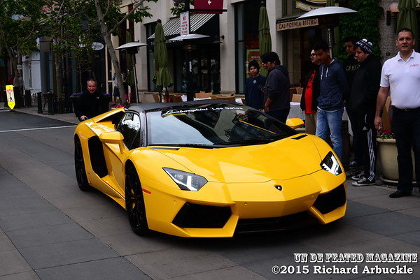Chona Pike Designs & Undefeated Sports & Entertainment Magazine at Santana Row Exotic car Show
