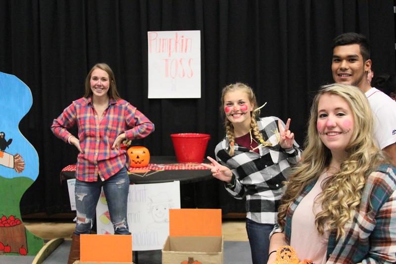 Gardner Webb students love showing kids a good time at OctoberFest