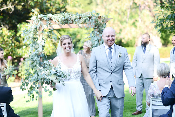 Meaghan and Chris ~ Marin Art and Garden Wedding