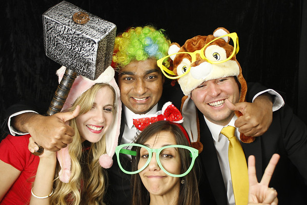 ZS Associates Holiday Party Photo Booth Singles
