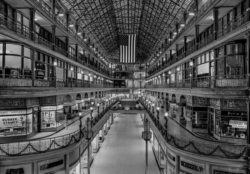 Arcade in Cleveland Ohio in the 60's.