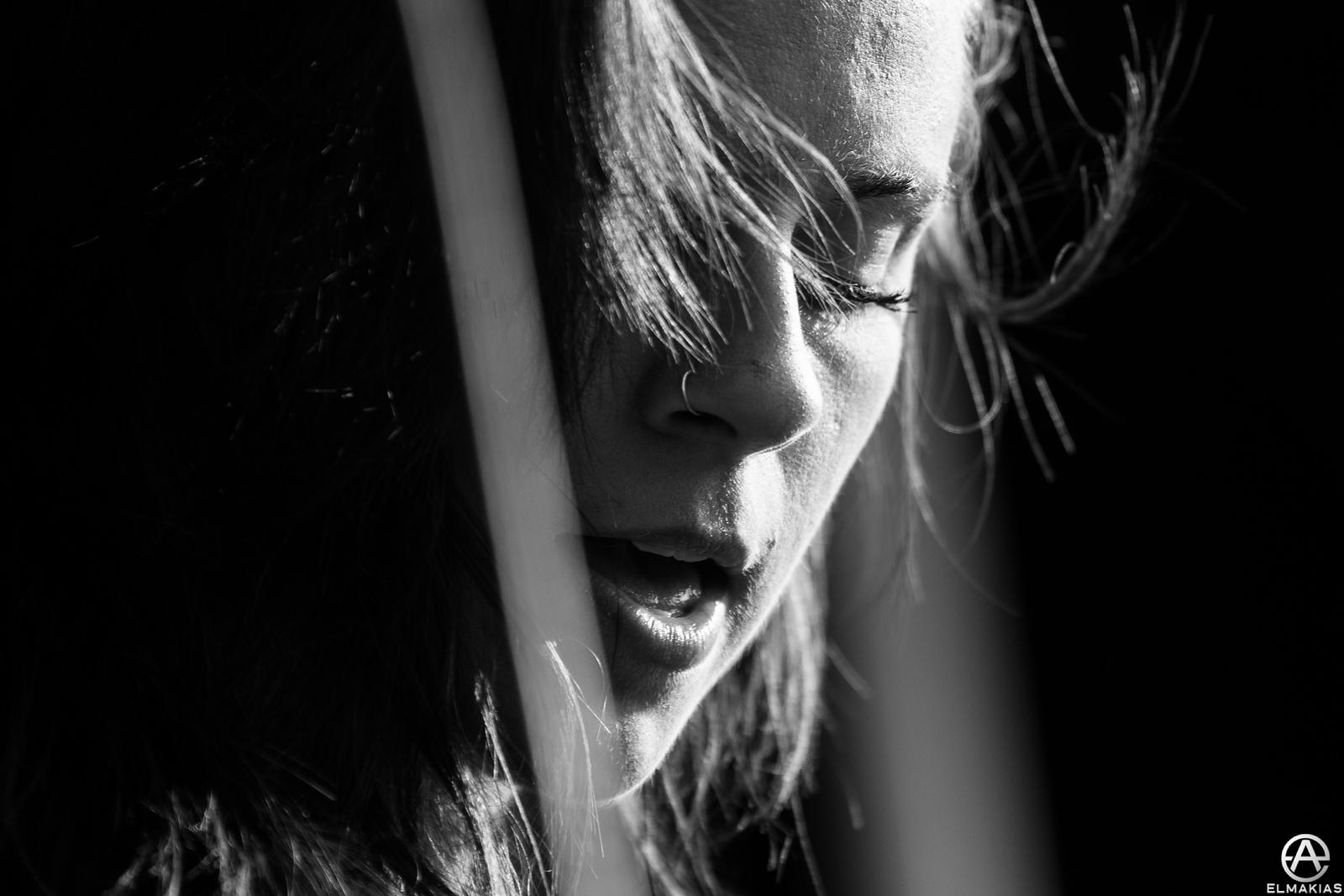 Onstage Portait - Lynn Gunn of PVRIS