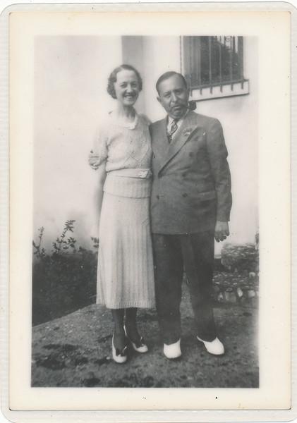 Harri Greenberg founder of Harris and Frank. Originally called Brooks of California. Rumanian immigrated when he was 8. Emma Greenberge born in montana.