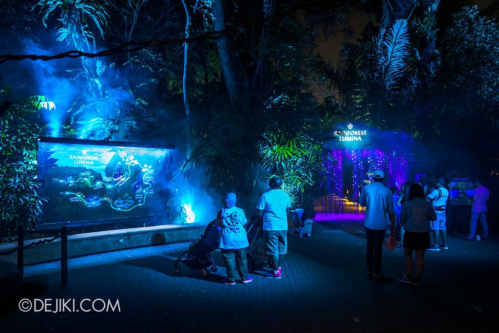 Singapore Zoo Rainforest Lumina - Exit