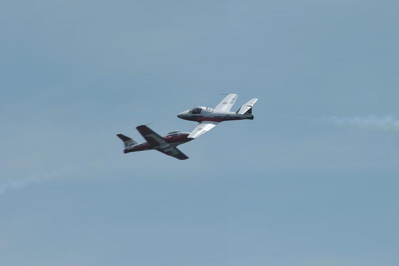 Royan Canadian Air Force Snowbirds