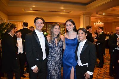 Debutantes Presented at Pasadena Guild of CHLA June Ball