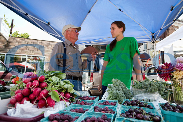 July 2012 - Melissa Graham at Farmers Market