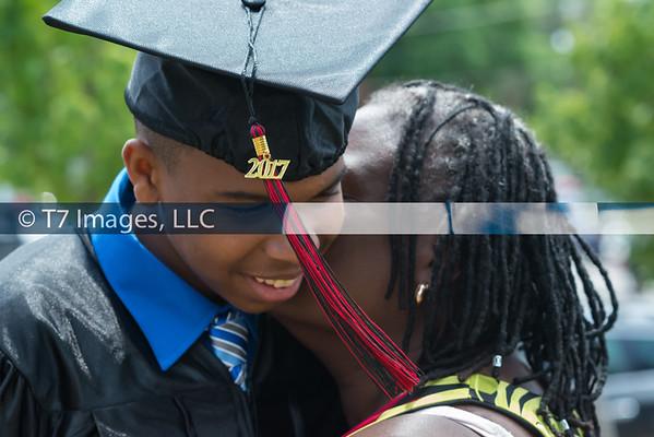 2017-Demetrius Sharp Graduation from Achievement Prep