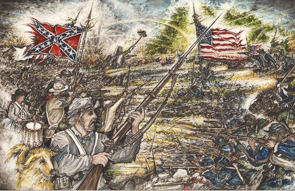 Gettysburg Illustrations