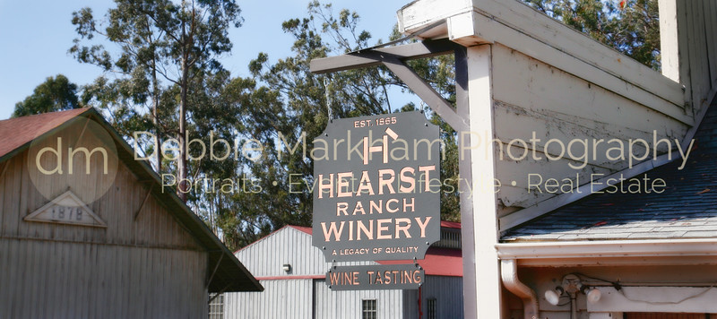 Hearst Winery in San Simeon