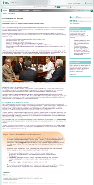 "Article written for Merck global intranet. {To view in a readable size, hover over the article above and click on ""Original Size""; hit close in the upper right to return to this gallery.}"