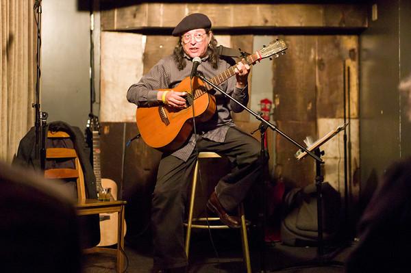 Frank Christian at the Gaslight October 27, 2012