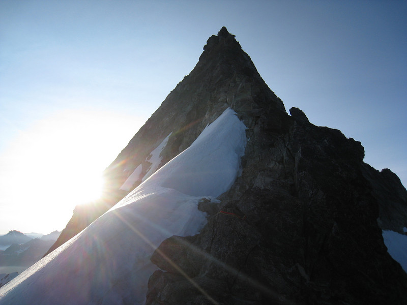 Forbidden's West Ridge at sunrise