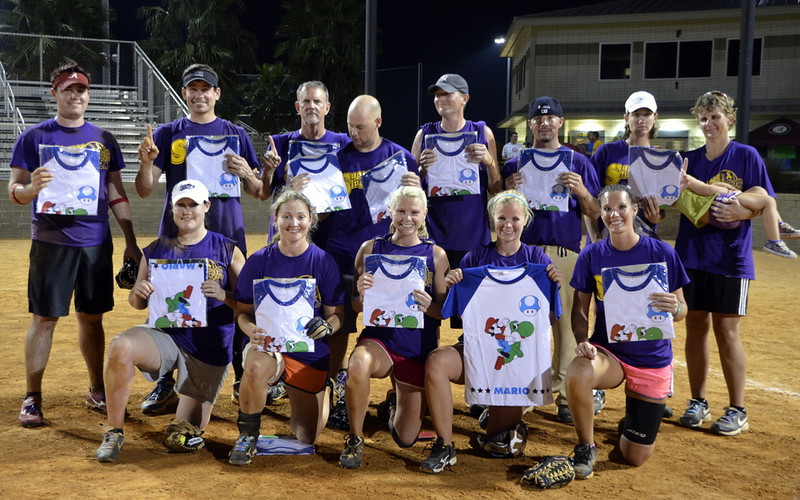 Super Sluggers Softball Tournament