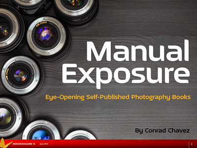 First page of article Manual Exposure: Eye-Opening Self-Published Photography Books