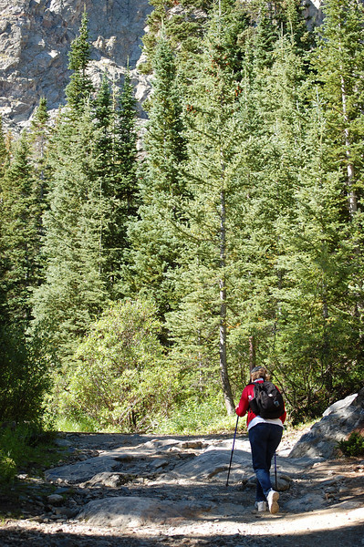 McCulloch Gulch Trail to above White Falls - 2008