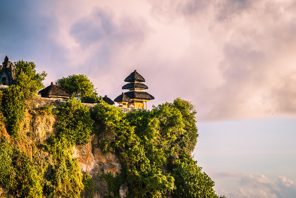Uluwatu Temple Sitting on the Cliff Edge