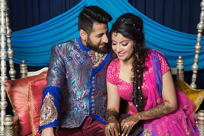 Priyanka&Aman_Mehndi
