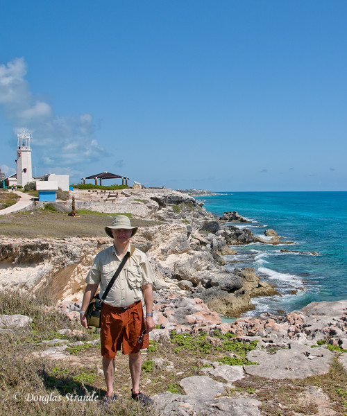 Doug and rocky coast of Punta Sur