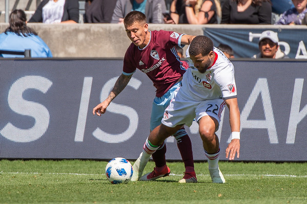 Colorado Rapids vs Toronto FC - MLS Soccer - 2018-04-14