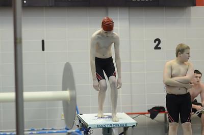 Boys Swimming vs SJ 1-14-14