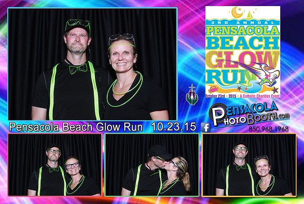 Pensacola Beach Glow Run 10-23-2015