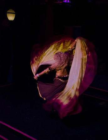Belly  Dancing at Ember's 09-25-15