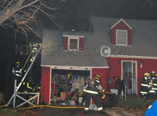STANHOPE, NJ HOUSE FIRE 5 RIDGE RD. 1/8/12