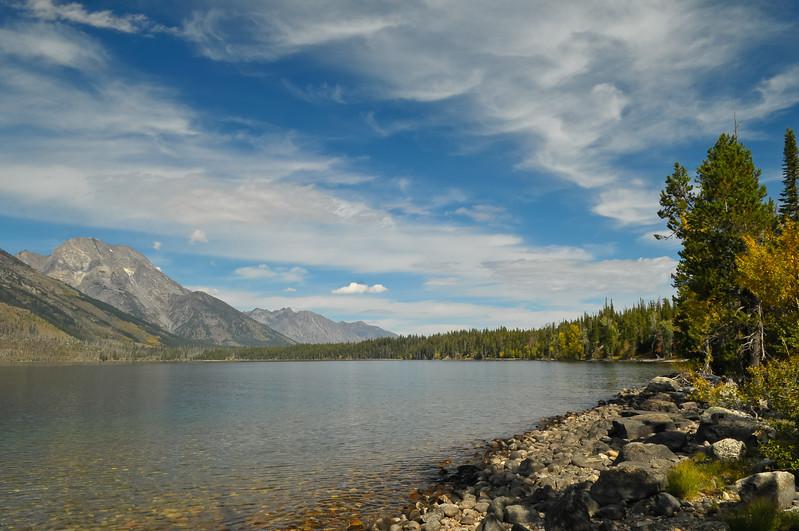 Grand Teton National Park.  Jenny Lake.