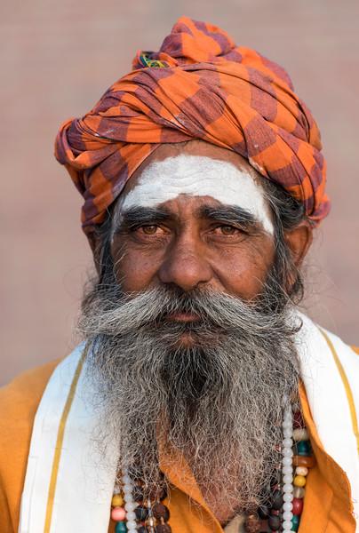 Portrait of Sadhu, Varanasi