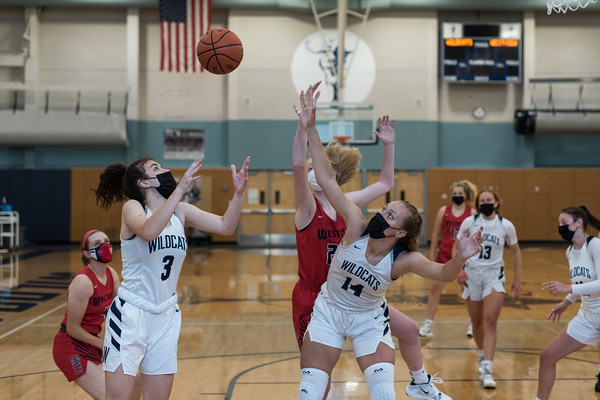 2021 Girls Varsity Basketball vs. Westview