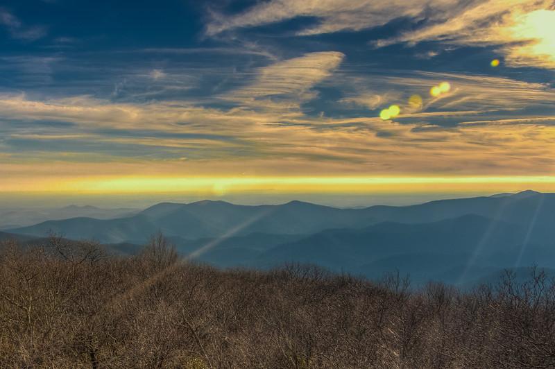 Blood Mountain, South View