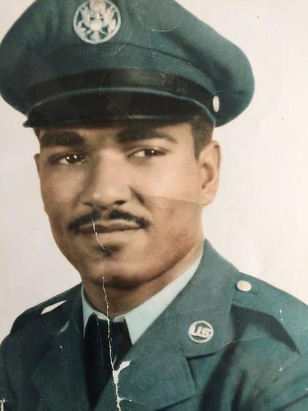 Edward Collins, U.S. Air Force, step father of Kasandra Diomande.