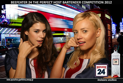 Beefeater 24 - The perfect host bartender competition 2012!